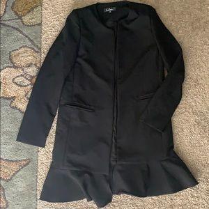 Lulus Black Coat